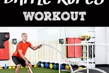 Battle Ropes exercises
