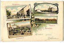 Nýřany, pohlednice