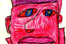 Donald Walker // Drawings / works on paper from an artist with a developmental disability.