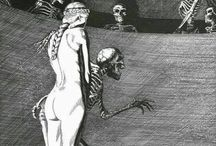 Drawings by John Bolton