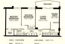 2 Bedroom Floorplans / All of our 2 bedrooms