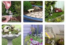 Miniature Gardens and Fairy Gardens... / by Loralea Dawn Kirby