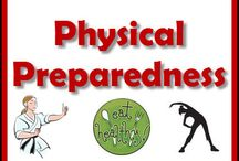 Physical Preparedness / The weak have a harder time surviving than those who are healthy. Part of preparing physically would be: Start a healthy eating lifestyle, Exercise, Learn to physically protect yourself, and Lose weight if needed. All the food and water storage in the world won't help someone who's so physically unfit that they cannot take care of themselves and those around them in a crisis. The time to improve and tackle health issues is now. The time to improve  your good health to premium health is also now.