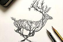 különleges rajzok