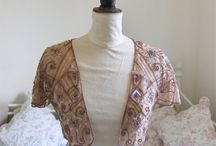 talulahblue Vintage clothing and  kimonos. / Talulahblue handmade one of a kind vintage fabric kimonos and capes.