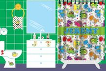 Dinosaur Collection by Potty Scotty  / Dinosaur themed bathroom accessories and potty training items