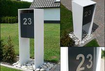 brievenbus / huisnummer
