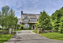 LISTED: 345 Greens Farm Road, Westport, CT / 7 Bedrooms | 6 Bathrooms | 2 Half Bath  Spectacular 2+ acre Greens Farms estate with over 9000 SF This exceptional home been extensively updated and renovated with unmatched custom detail throughout. Perfect home for entertaining on a grand scale or simply for daily living.