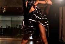Dance. Latin, ballroom and their dresses.