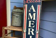 Painted signs
