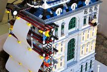 Budovy lego