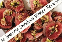 Christmas Dinner Menu / by Shelly Allenby