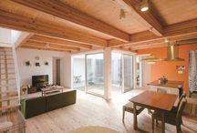 リビング / 香川県でソラマドの家を建てています、センコー産業です。 香川県内で手掛けた「ソラマドの家」の写真(施工例)を掲載しています。 実際に「ソラマドの家」を見たい方。香川県綾歌郡宇多津町にモデルハウスもございます。ぜひ遊びに来てください♬