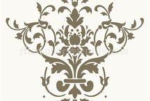 Дамасский орнамент