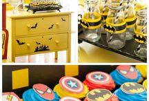Superhero Themed Birthday Party Inspiration