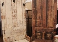 Door and seat