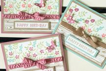 Stampin' Up! - Number of Years / Stampin' up stamp set and card design