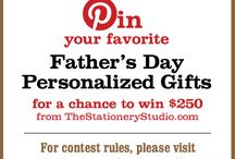 the stationery studio father's day contest / by Brandi Layman
