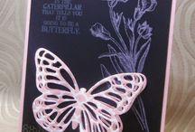 Butterfly Stampin Up / Saleabration 2015
