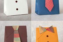 nápady na darčeky a balenie