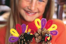 thanksgiving crafts / by Jamie Clark