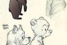 Анимация, зарисовки