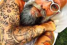 Beard & tatoo
