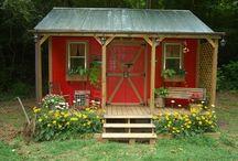 Garden & Wood Sheds