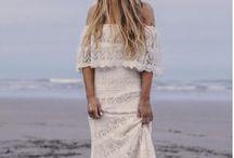 Boho wedding dress inspiration