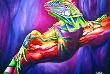 Sinclair Stratton Art / My watercolor animal painitngs!