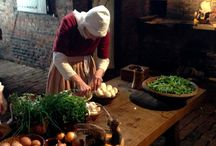Medieval dinner room