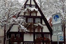Tudor buildings / All things Tudor