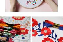 Embroidery hobby