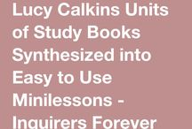 Lucy Calkins stuff