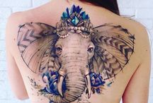 Elefant tattoo
