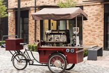 Coffee Bike / Rower do kawy / The whole world is crazy about street food, and we love street drinking and eating. Mobile points are a permanent element of the city landscape and an attraction not just for tourists. This is a great idea for your own business and adventure of life. The biggest advantage of mobility is that if your original place fails, you can always move your coffee bike somewhere else - because if the customer does not find you - you will find the customer!
