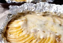 Camping tinfoil meals