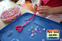 Fine Motor: Finger Gyms and Manipulatives / by Debra@ Familylicious