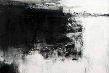 B&W paintings