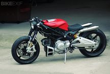 Motorcycles / Motocicletas Sport CafeRacer Trial