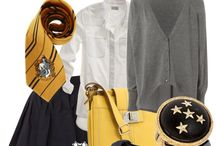 Hufflepuff outfits / Joyful Hufflepuff outfits to shine your best on every party or just a normal day.