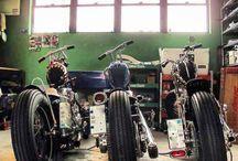 Bobber-motorcyklar