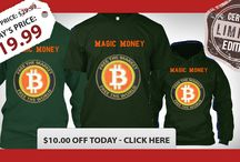 "BitCoin magic money / Bitcoin is the currency of the Internet: . ""Magic Internet Money""? This limited certified edition you can get it today, Only 66 available here with 10 dollar discount:http://www.teespring.com/magicmoney"