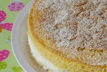 torta con crema al latte