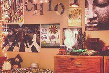sypialnia Julki / hippie bedroom
