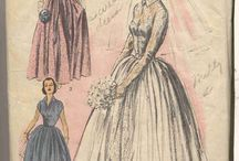 Vintage patterns / Fashion