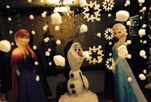 Frozen party / 6th bday party