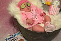 Baby photo shot
