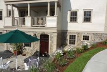 Stone Cladding and Patio