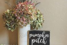 Signs for Fall